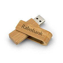 Bamboe USB-stick Twist