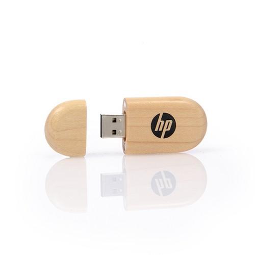Houten USB stick Nature, maple