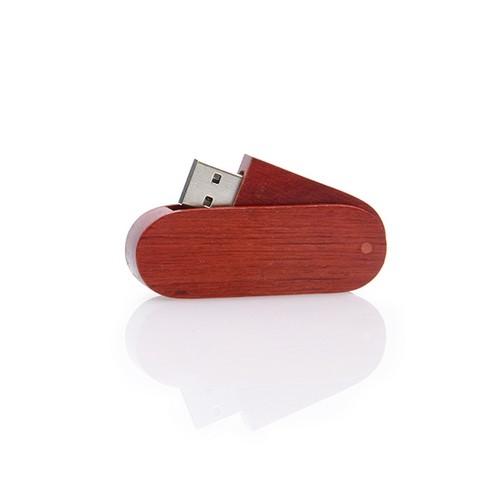 Houten USB stick Twister