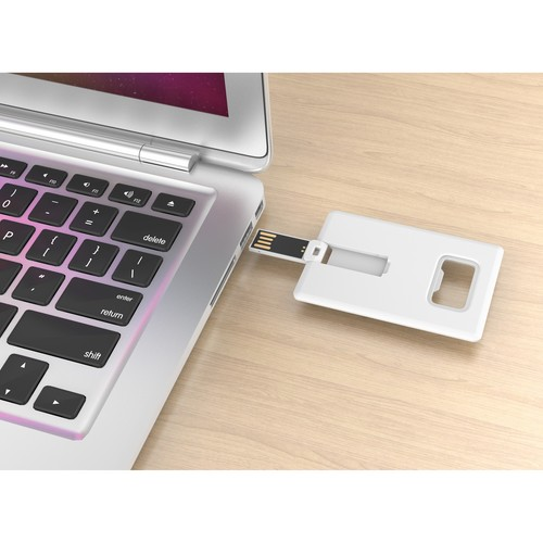 USB stick creditcard met flesopener
